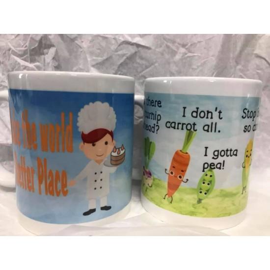 Custom Mugs - Personalized any Design / Photo