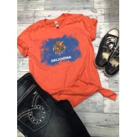 Oklahoma State Flag T shirt