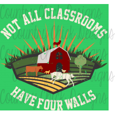 Digital Down Load Printable Designs  Not All Classrooms have 4 Walls